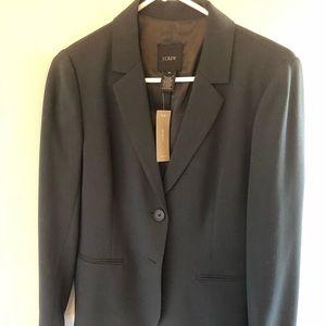 JCrew Dark grey women's blazer 8T new!!